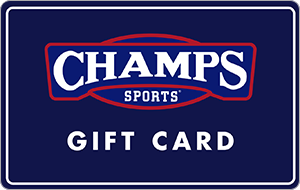 Champs Sports In Store Only Gift Card