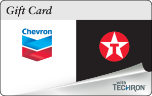Chevron Texaco Gift Card