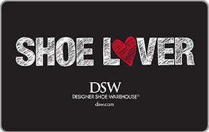DSW In Store Only Gift Card