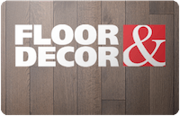 Floor and Decor Gift Card