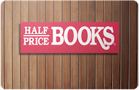 Half Price Books Gift Card