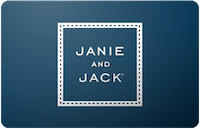 Janie and Jack In store only Gift Card