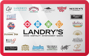 Landry's Restaurants Gift Card