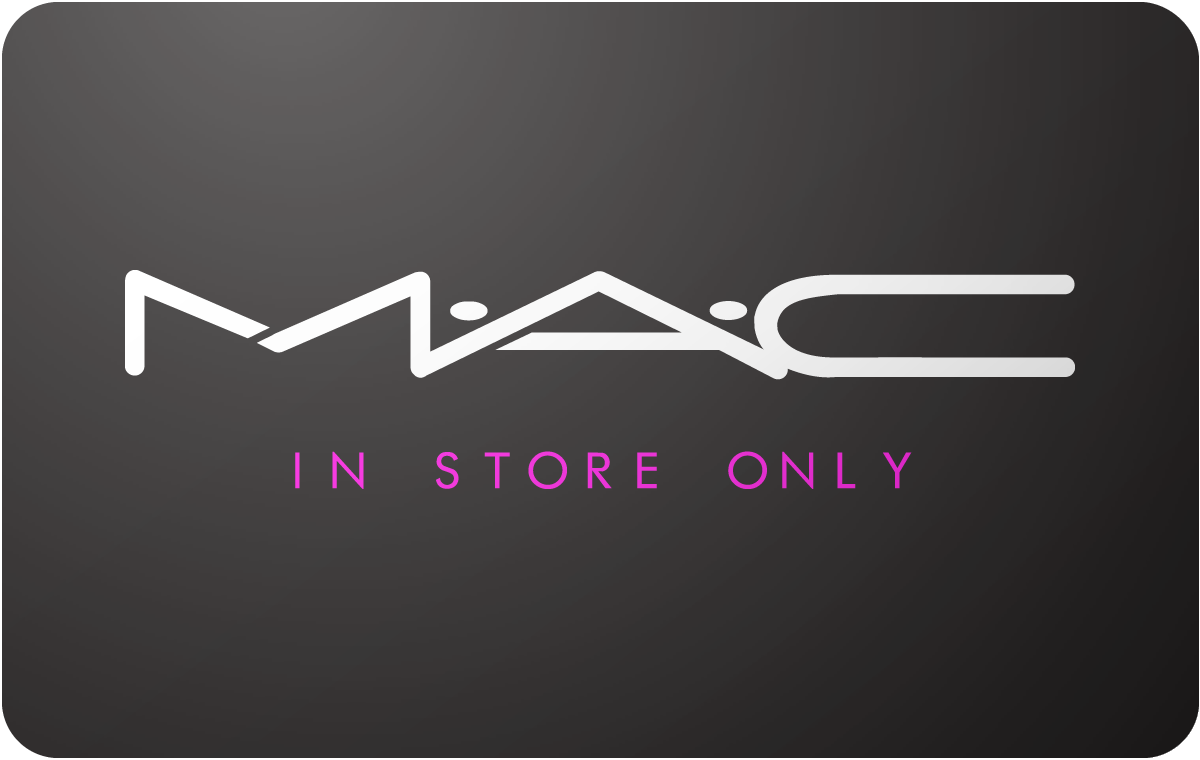 MAC Cosmetics In Store Only Gift Card