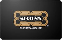 Morton's The Steakhouse Gift Card