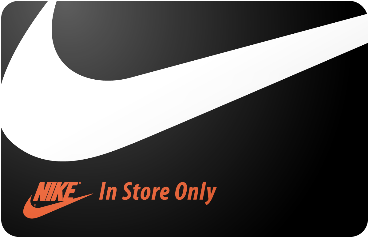 Nike In Store Only Gift Card