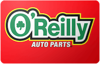 O'Reilly Auto Parts Gift Card