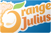 Orange Julius Gift Card