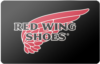 Red Wing Gift Card