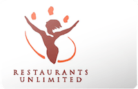 Restaurants Unlimited Gift Card
