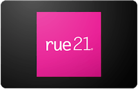 Rue 21 In Store Only Gift Card