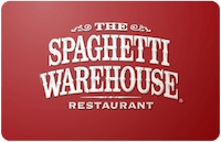Spaghetti Warehouse Gift Card