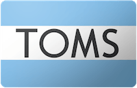 Toms Shoes Gift Card