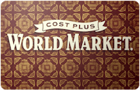 Cost Plus World Market Gift Card