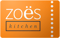 Zoe's Kitchen Gift Card