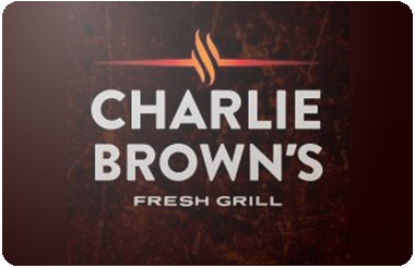 Charlie Browns Gift Card