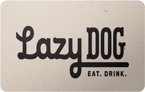 Lazy Dog Gift Card